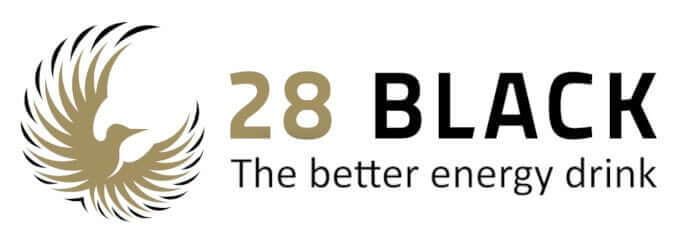 28 black logo
