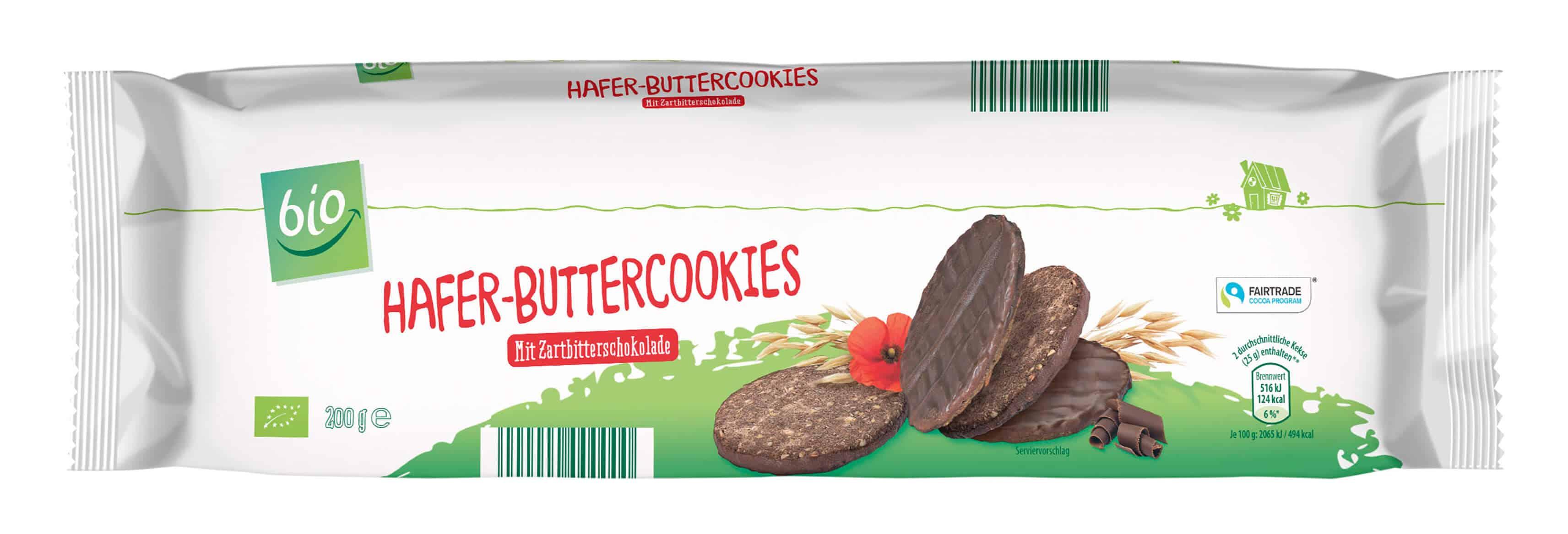 ALDI SÜD Bio Hafercookies Zartbitterschokolade