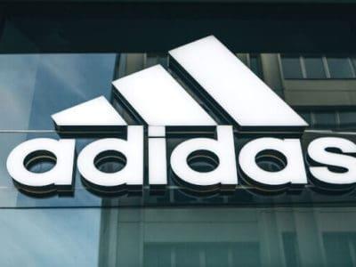 Adidas-Logo Geschäft