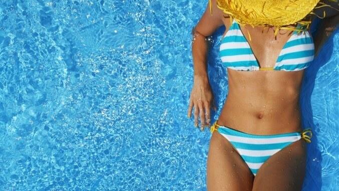 random bikini picture
