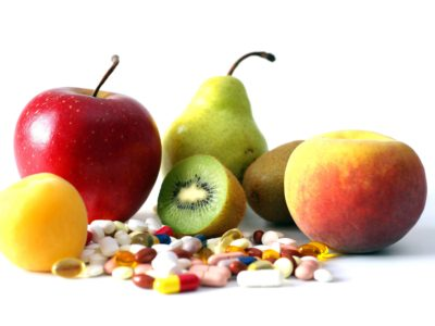 Vitamintabletten Apfel Birne Kiwi Zitrone