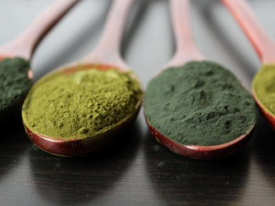 green algae powder