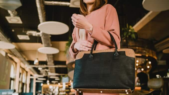 BAG AFFAIR - laptop work bag black briefcase for women - Savvy