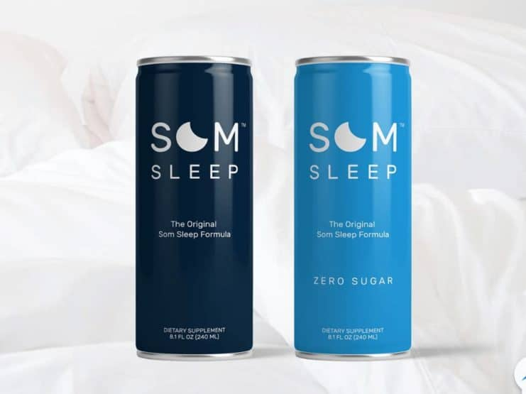 Som Sleep: veganes, Getränk Schlaffördernd