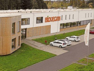 Außenansicht der Biovegan-Zentrale