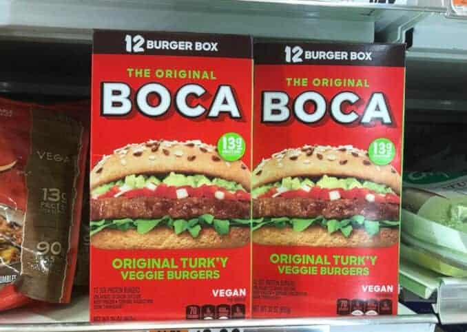 Boca vegan Turkey Burger