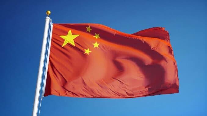 China Flagge Fahne