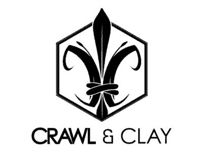 Crawl and Clay Logo