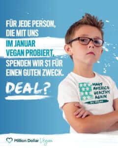 million dollar vegan veganuary
