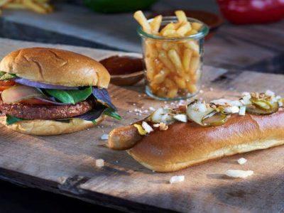 Dupont II vegan burger & hotdog - DuPont NB PLANT-TEX