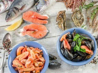 Fisch Meeresfrüchte