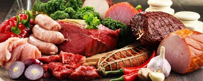 Fleisch Konsum Wurst