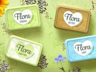 Flora magarine produkte 1