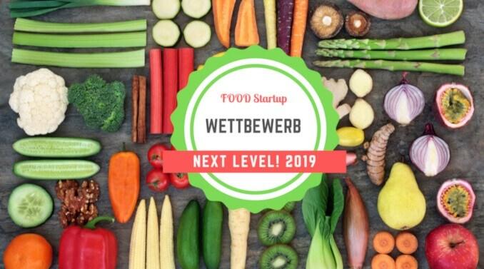 Food Startup Wettbewerb Next Level! 2019 logo