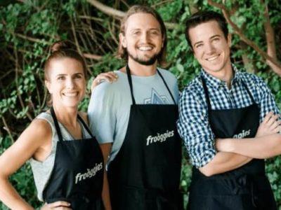 Die Frooggies Gründer Sarah, Philippe & Patrick