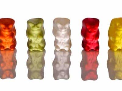 Bunte Gummibären Gelantine Gummibärchen