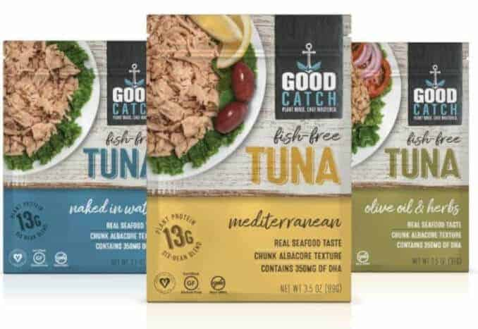 Good Catch foods tuna products
