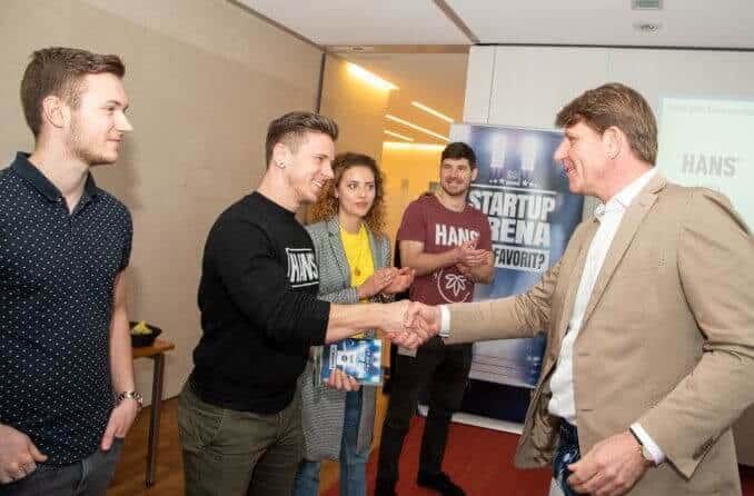 HANS Brainfood gewinnt Nestlé Startup Arena 2019