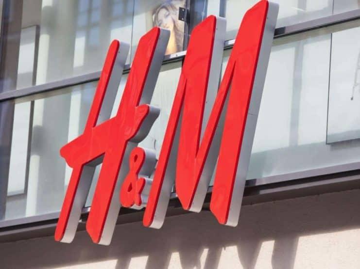 H&M logo Hennes & Mauritz