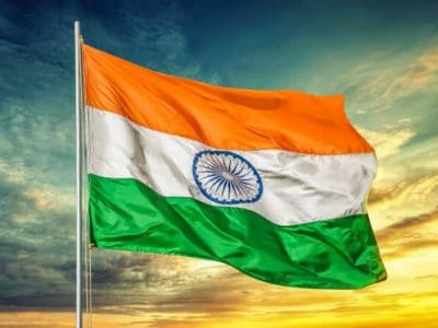 India Flag Flagge Fahne