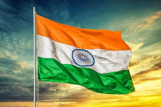 India Flag Flagge Fahne