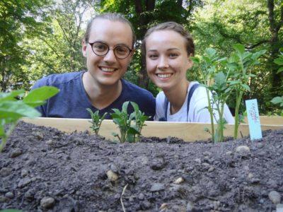 PlantAge Gründer Judith Ruland und Frederik Henn