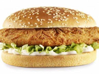 KFC Impost Burger Quorn