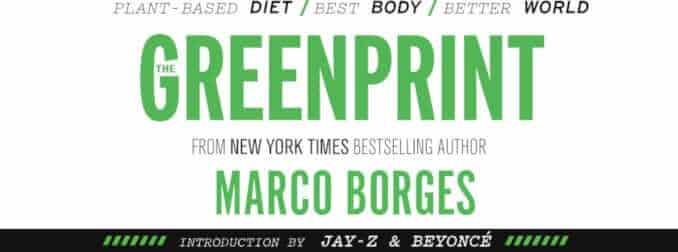Marc Borges 22 days nutrition the greenprint logo