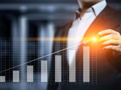 marktentwicklung graph
