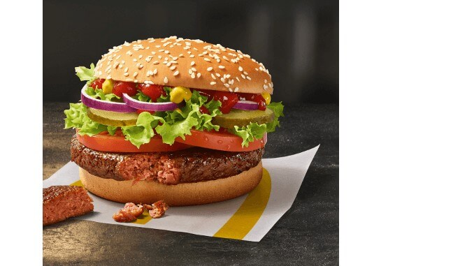McDonald's Big Vegan TS