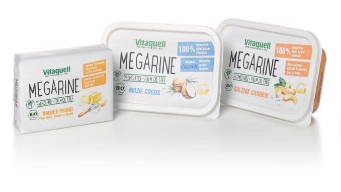 Vitaquell Margarine drei Sorten