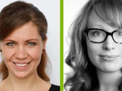 Kathleen Häfele & Julia Aumüller – Organisatorinnen der New Food Conference