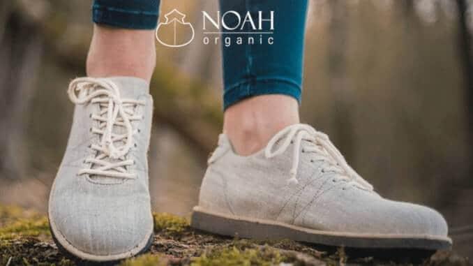 Schuhe aus biologisch abbaubaren Materialien