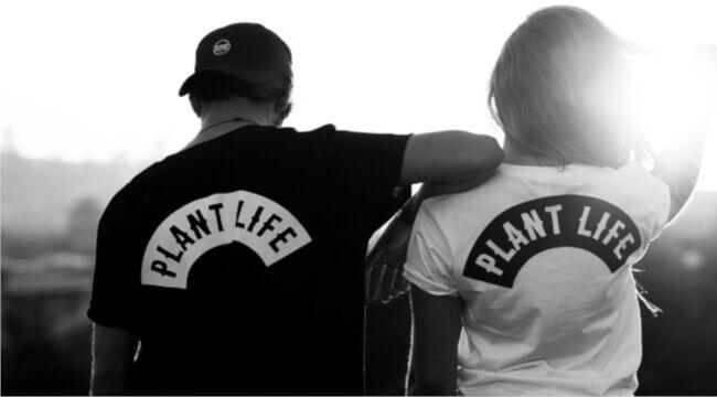 Plant Faced Clothing vegane Streetwear
