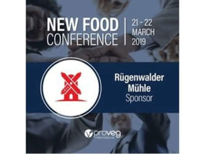 Rügenwalder Mühle Sponsor New Food Conference