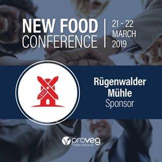 Rügenwalder Mühle Sponsor New Food Conference