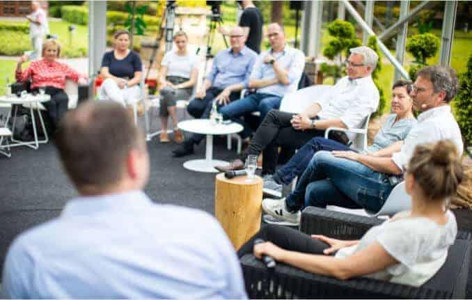 Rügenwalder Mühle Talkrunde Teilnehmer