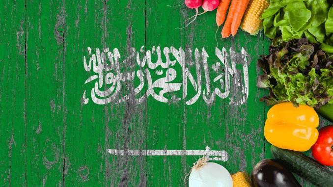 Saudi-Arabien, Gemüse, Flagge, vegan, Jugend