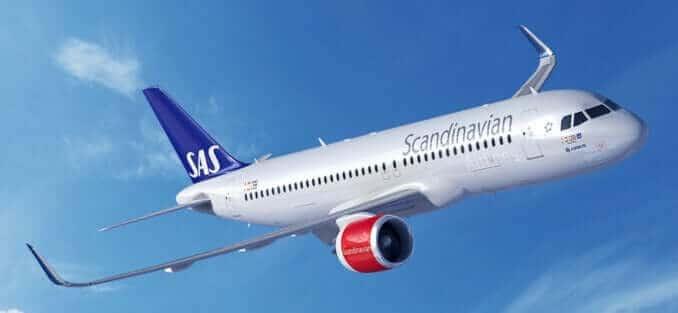 Scandinavian Airlines SAS Fluggesellschaft Sknadinavien