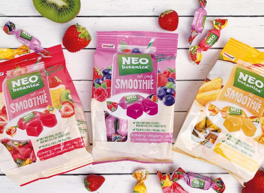 NEU & vegan: Smoothie Soft Candies in drei fruchtigen Sorten