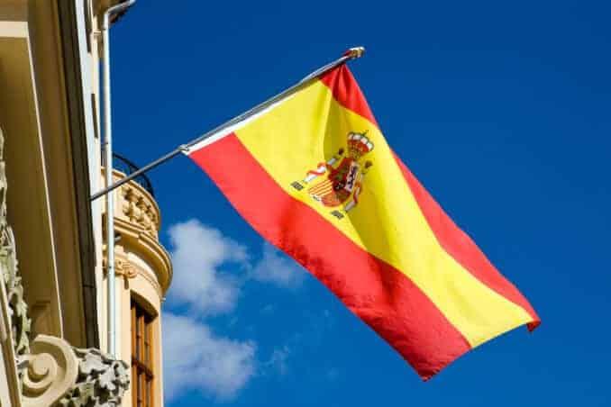 Spanien Fahne Spanish flag