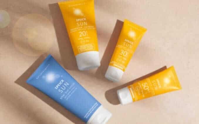 Speick Sun produkte