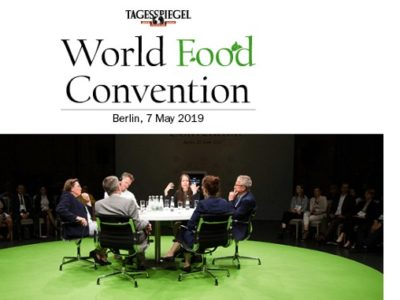 Tagesspiegel World Food Concention in Berlin