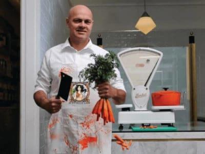 The Vegetarian Butcher CEO Jaap Korteweg