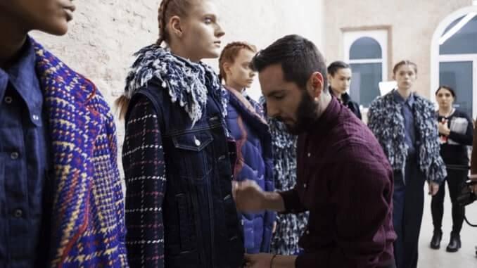 "Tiziano Guardini auf der ""Milan fashion week"""