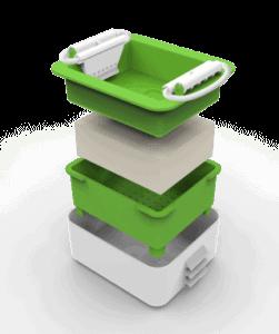 Tofu Zubereitung Presse