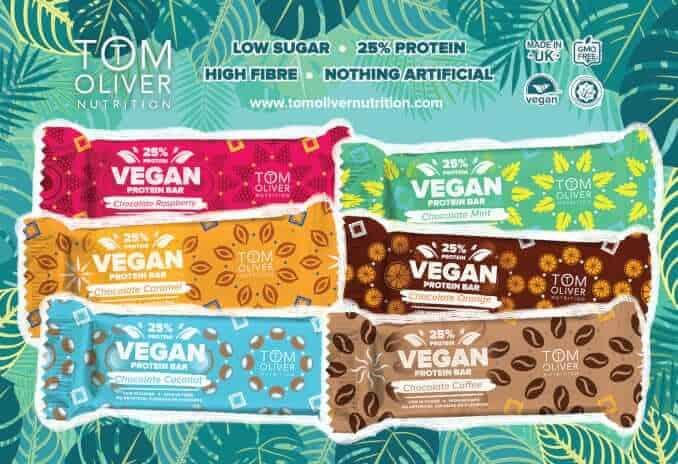 Tom Oliver Nutrition Protein Riegel UK