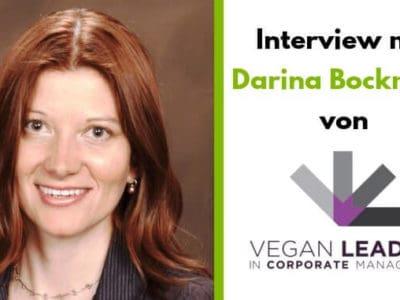 "Darina Bockman – Gründerin von ""Vegan Leaders in Corporate Management"""