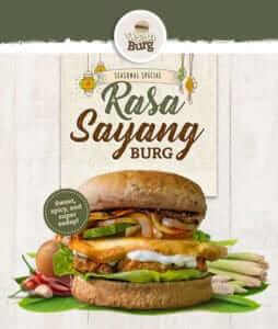 Rasa Sayang Burger von VeganBurg