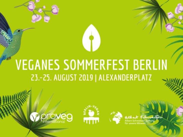 Veganes Sommerfest Berlin 2019